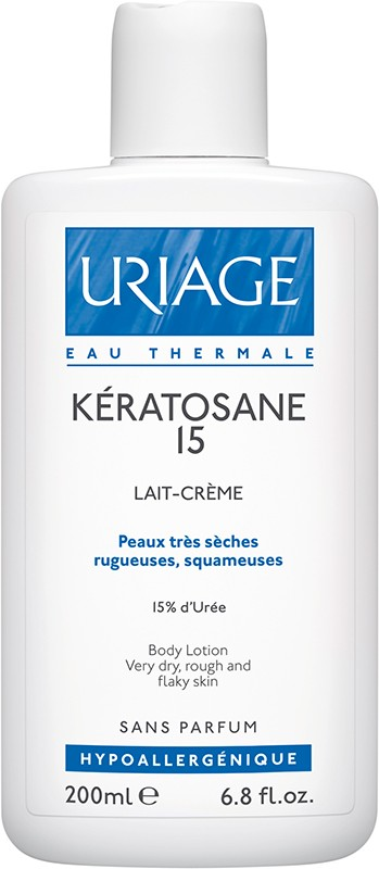 Uriage Keratosane 15 Leite Corporal 200 ml