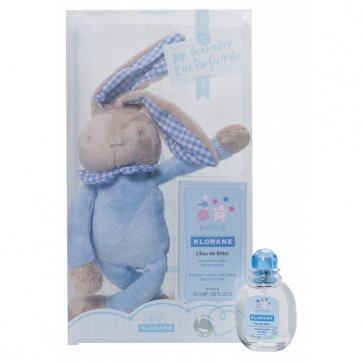 Klorane Bebé Água de Colónia 50 ml + Coelho Azul
