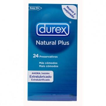 Durex Preservativos Natural Plus x 24