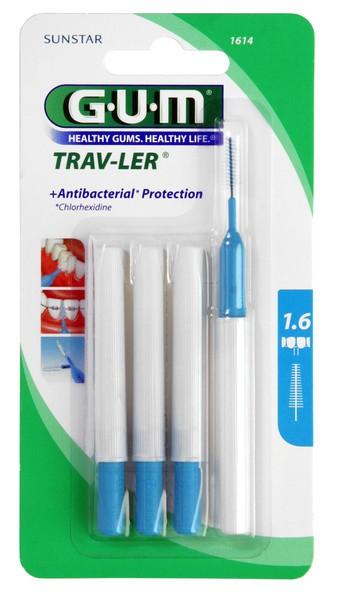Gum Trav-Ler Escovilhão Cónico 1,6mm x 6