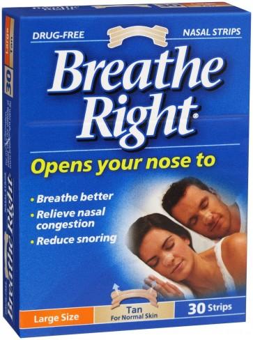 Breathe Right Penso Nasal Grande x 30