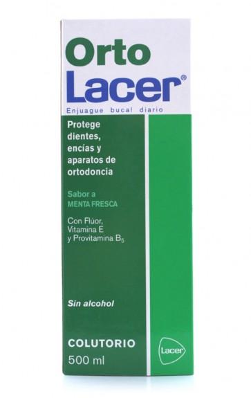 Ortolacer Colutório Menta 500 ml