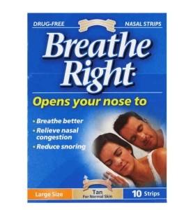 Breathe Right Penso Nasal Grande x 10