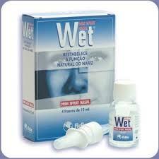 Wet Spray Nasal Mini 4 x 15 ml