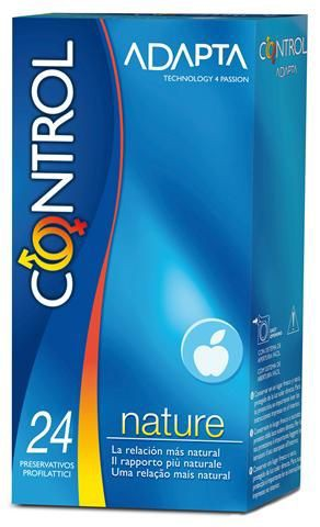 Control Nature Preservativos Adapta x 24