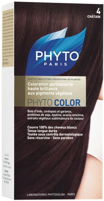 Phyto Phytocolor 4 - Castanho