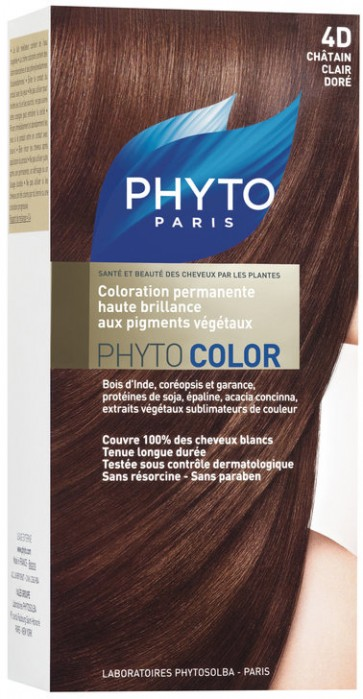Phyto Phytocolor 4D - Castanho Claro Dourado
