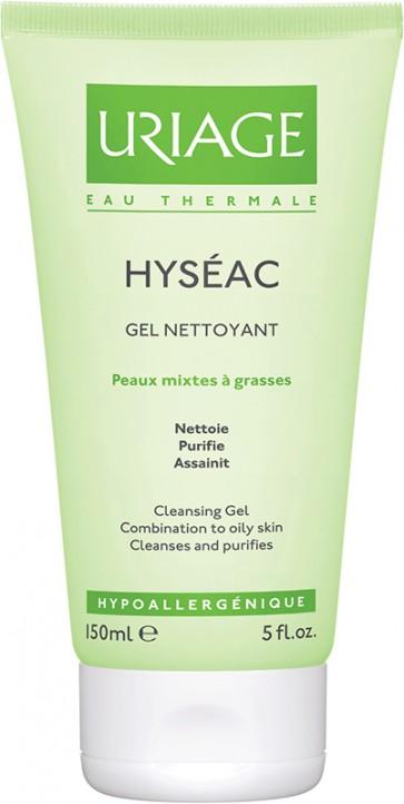 Uriage Hyseac Gel Limpeza Suave 150 ml