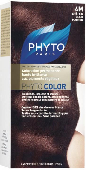Phyto Phytocolor 4M - Castanho Claro