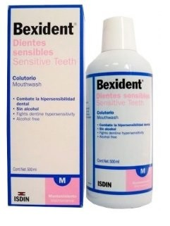 Bexident Dentes Sensíveis Colutório 500 ml