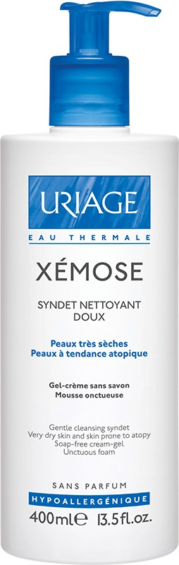 Uriage Xémose Creme Limpeza Syndet 400 ml
