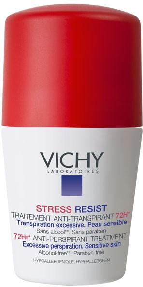 Vichy Desodorizante Transpiração Excessiva 72 h Roll On 50 ml