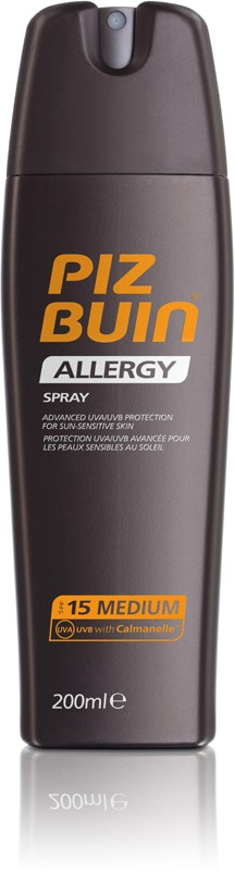 Piz Buin Allergy Spray FPS 15 200ml