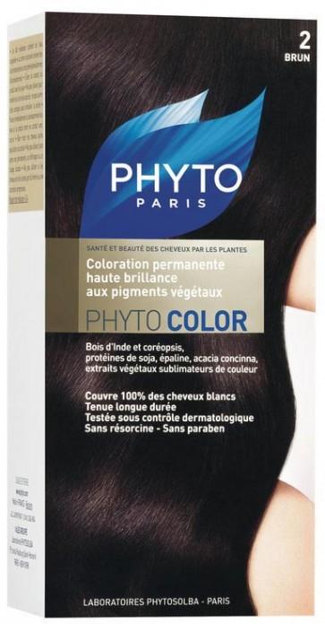 Phyto Phytocolor 2 - Castanho Muito Escuro
