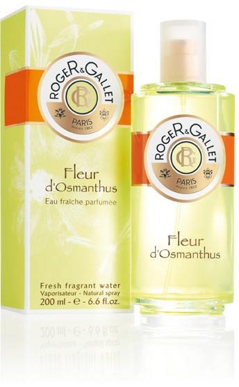 Roger & Gallet Fleur D'Osmanthus Água Perfumada 200 ml