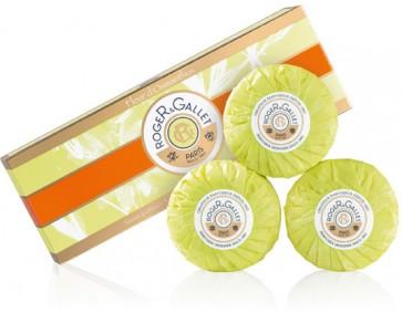 Roger & Gallet Fleur D'Osmanthus Sabonete 100 g X 3
