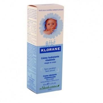 Klorane Bebé Creme Hidratante Rosto e Corpo 200 ml