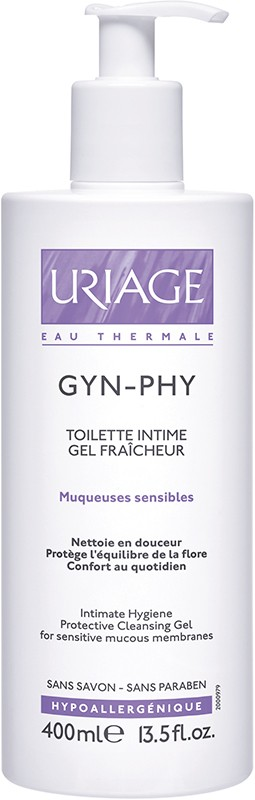 Uriage Gyn Phy C/ Doseador 400 ml