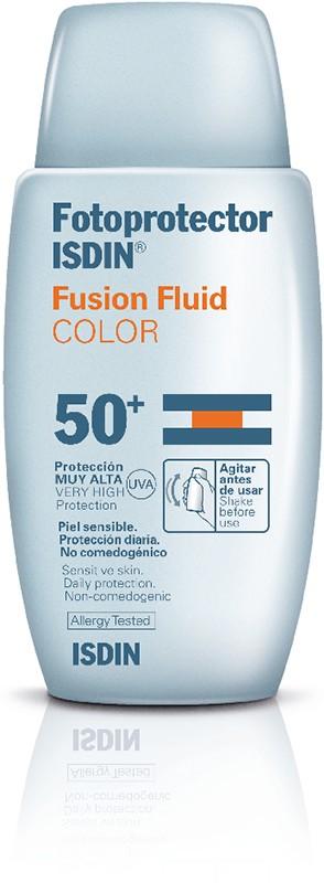 Isdin Fotoprotetor Fusion Fluid C/ Cor FPS 50+ 50 ml