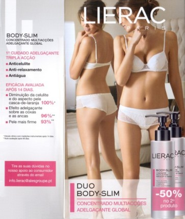 Lierac Body Slim Creme Corporal 200 ml X 2
