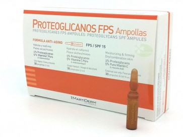 Martiderm Ampolas Proteoglicanos FPS 15 x 30