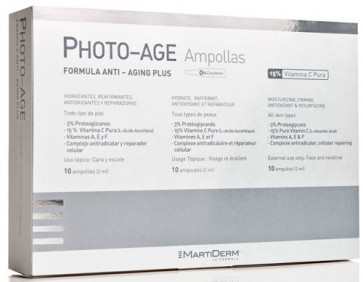 Martiderm Ampolas Photo Age x 10