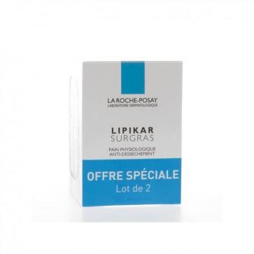 Roche Posay Lipikar Surgras Sabonete X 2