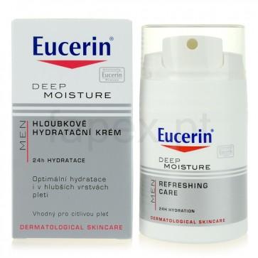 Eucerin Men Creme Hidratante 50 ml + Oferta de Espuma de Barbear