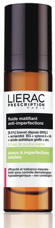 Lierac Prescription Fluído Matificante 40 ml