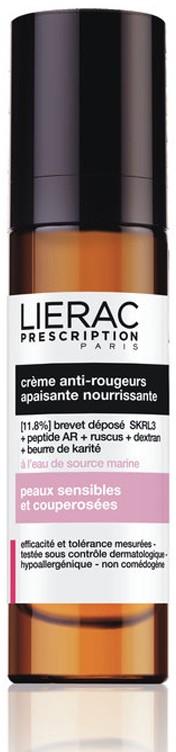 Lierac Prescription Creme Vermelhidão Hidratante 40 ml