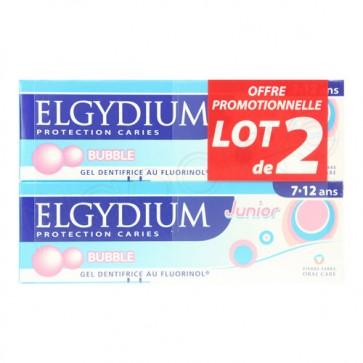Elgydium Júnior Gel Bubble 50 ml x 2 - Promoção