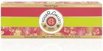 Roger & Gallet Fleur Figuier Sabonete 100 g X 3