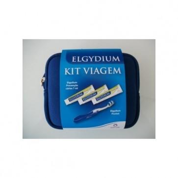 Elgydium Kids Bolsa Viagem Escova Dentes + Pasta Dentífrica 38 ml