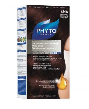 Phyto Phytocolor 4 MA - Castanho Escuro Acaju