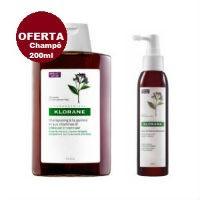 Klorane Pack Anti-Queda: Sérum fortificante anti-queda com oferta do champô quinica (estimulante e fortificante).