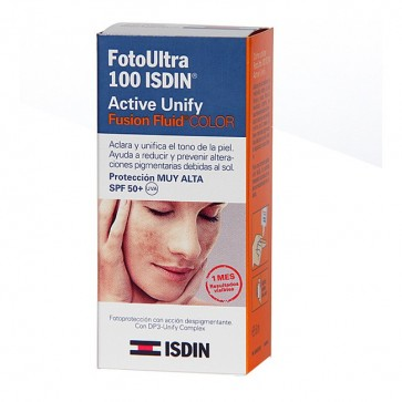 Isdin Fotoultra Active Unify FPS 100 50 ml