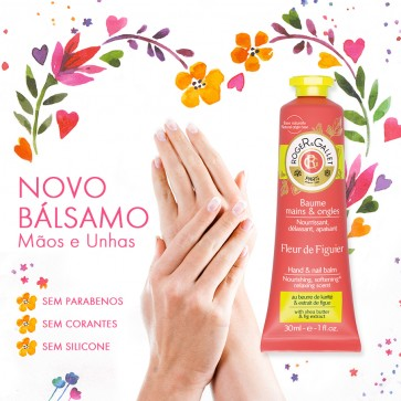 Roger & Gallet Fleur Figuier Creme Mãos e Unhas 30 ml