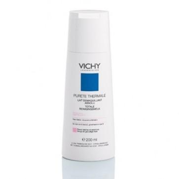 Vichy Desmaquilhante Olhos e Face Leite Suave Peles Secas 200 ml