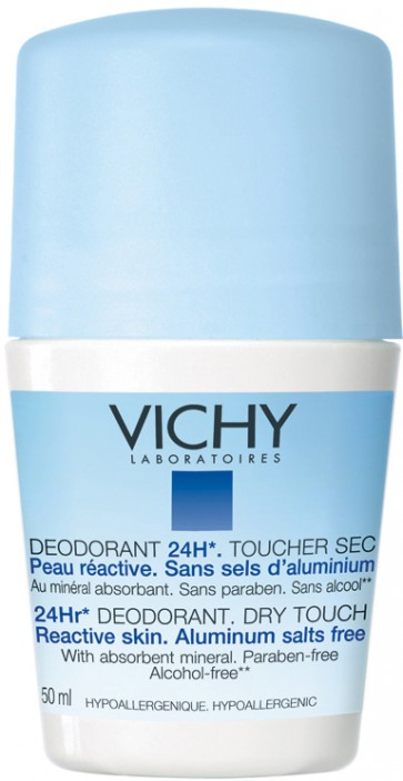 Vichy Desodorizante Anti-Humidade Roll On 50 ml X 2