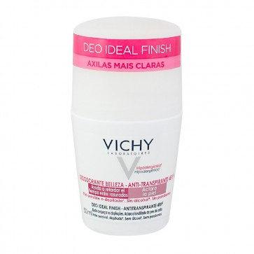 Vichy Desodorizante Ideal Finish Roll On 50 ml X 2