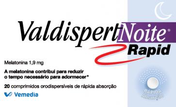 Valdispert Noite Rapid 20 Comprimidos Orodispersível