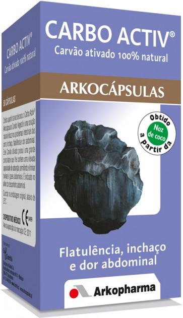Arkocápsulas Carbo Activ Cápsulas x 50