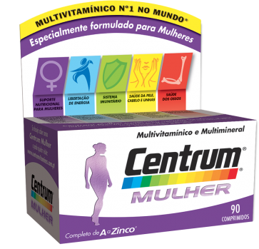 Centrum Mulher 50+ Comprimidos x 90