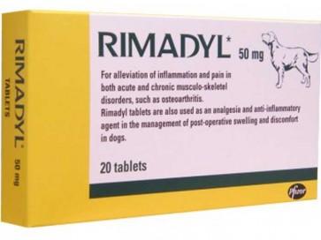 Rimadyl Comprimidos 50 mg x 20