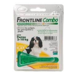 Frontline Combo Solução Cão 2-10 Kg 0,67 ml x 1