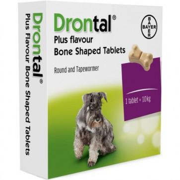 Drontal® Plus Flavour Comp. Cão x 2