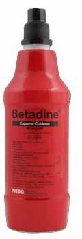 Betadine Espuma Cutânea 40 mg*ml x 500 ml