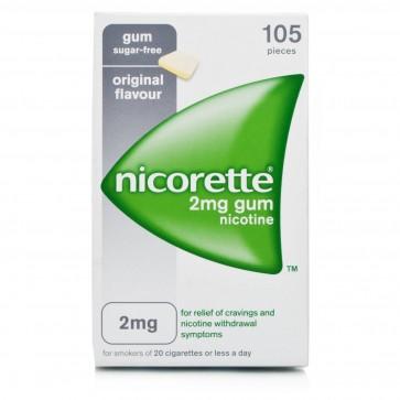 Nicorette Pastilhas 2 mg x 105