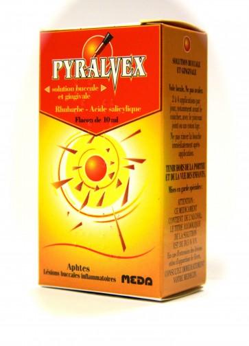 Pyralvex Solução Bucal 50/10 mg/ml x 10