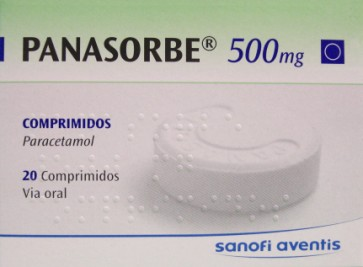 Panasorbe Comprimidos 500 mg x 20